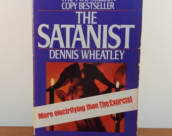 The Satanist by Dennis Wheatley / Ballantine Book / Horror Paperback