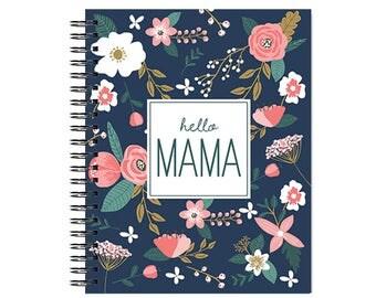 Hello Mama™ Brand Pregnancy Journal, Baby book, Baby Memory  Book, Personalized Baby Book,  Baby Books, The Sweet Rhino