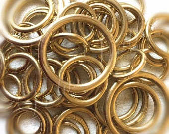 Quality Heavy Cast Brass O Rings - 19 | 25 | 32 | 38 | 50mm Widths