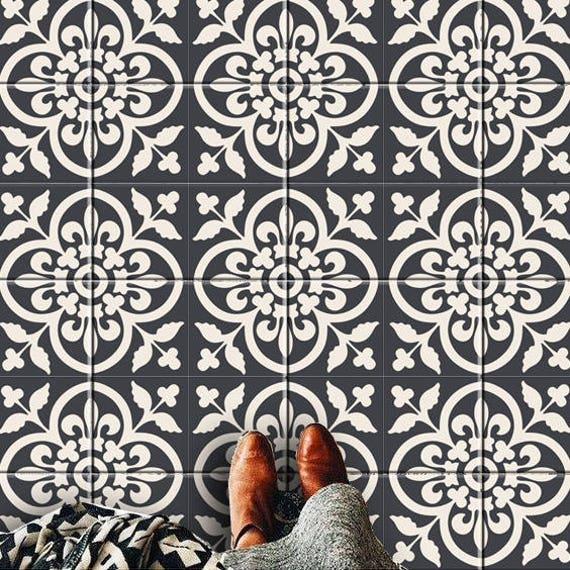 Moroccan Kitchen Floor Tiles: Encaustic Moroccan Kitchen/ Bathroom Stairs/ Floor/ Wall/