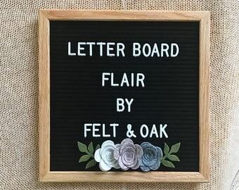 felt letter board etsy. Black Bedroom Furniture Sets. Home Design Ideas