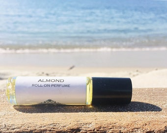 ALMOND || Roll on Perfume || Long lasting perfume || vegan perfume