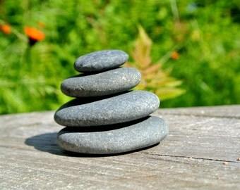 Zen Stacking Stones * 4.55 oz * Lake Superior * Meditation * Zen Garden * Terrarium * Aquarium * Home Decor