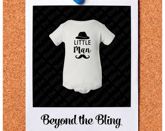 Little man baby bodysuit little man mustache hat baby shirt little man mustache bodysuit little man cute baby shower gift new baby bodysuit