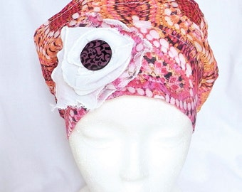 Chemo scarf,cancer headwear,chemo head wrap,alopecia cap,slouch chemo beanie,head coverings, cancer scarves,chemo head cover,head scarf,