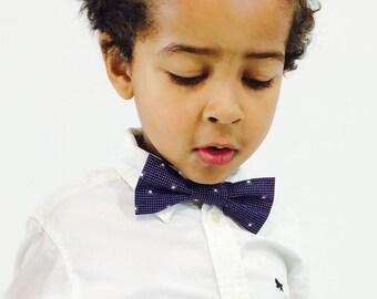 SALE Kids purple bow tie