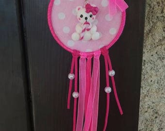 Dream pink wall Pooh dreams dreamcatcher decoration