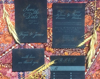 Printable Celestial Wedding Suite