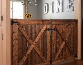 Baby Gate Pet Gate Custom Barn Door Room Divider Stable