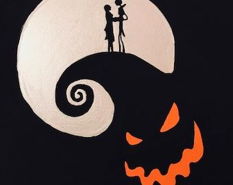 Jack Skellington and Sally, The Nightmare Before Christmas, Disney