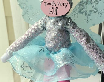 Tooth Fairy Elf Costume For Christmas Elf Doll