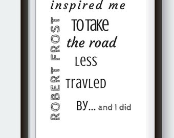 Inspirational motivational Quote Prints