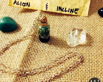 Immune Boosting Crystal Essence Necklace