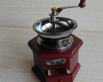 20 % SALE Vintage Kaffee Kaffeemühle, Holz Kaffeemühle, Vintage  Kaffeemühle, Land Küche,