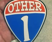 Other One Decal Grateful Dead and Co. Bob Weir Tribute Guitar Pick Sticker