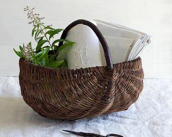 Rustic French Harvest Basket