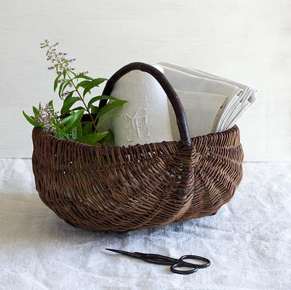 Rustic French Harvest Basket