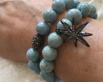 Fossil Coral Boho Bracelets