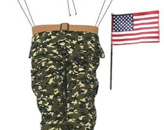 "3 Pc 19.25""H Soldier Wreath Decor Kit/Wreath Supplies/Solider Wreath Kit/Americana-Patriotic Decoration/MD0247"