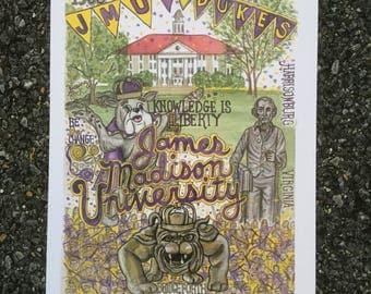 James Madison University print