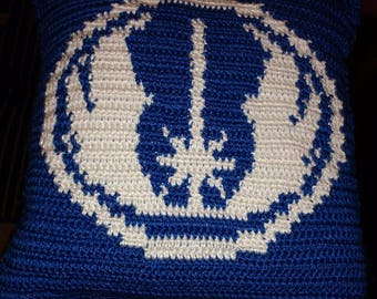 Star Wars Inspired Jedi Pillow Pattern Only