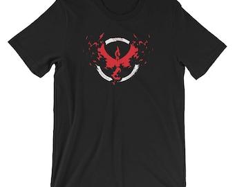 Pokemon GO Team VALOR Anime Brand Short-Sleeve T-Shirt