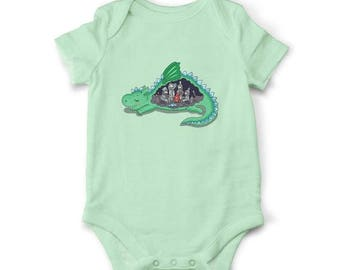 20% Baby bodysuit - What's inside the Dragon, Baby shower gift