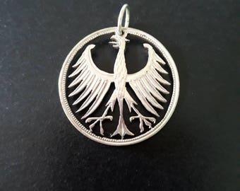 German silver eagle, 5 Deutschmark