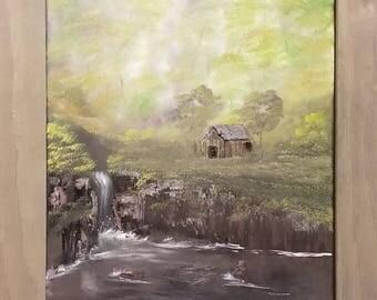 16 x 20 Oil Landscape Painting