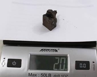 2.0oz CAMPO del CIELO Meteorite cut piece