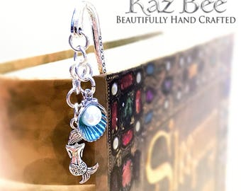 Blue Mermaid Bookmark