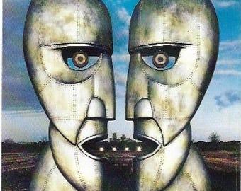 Pink Floyd Vintage Sticker / Decal, The Division Bell Album Art