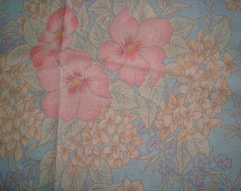 Flower patchwork fabric polyester cotton