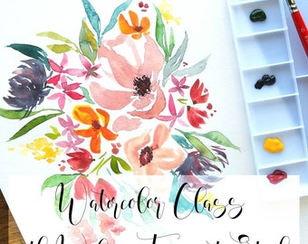Watercolor Workshop July 29th 9am to 12pm