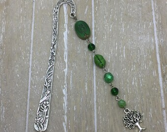 Bookmark green tree