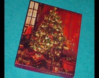 Christmas with Victoria 1996 Springbok Jigsaw Puzzle