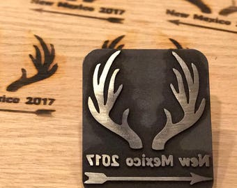 Create a custom branding iron - use your logo - burn wood steak etc - stamp- 3d printed in stainless steel