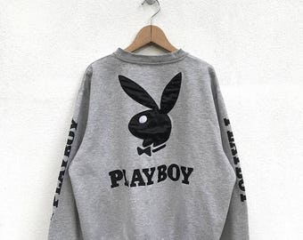 20% OFF Vintage Playboy Big Logo Sweatshirt,Playboy Sweater,Playboy Jumper,Playboy Crewneck