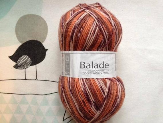 RIDE JAQUARD purple Mix yarn