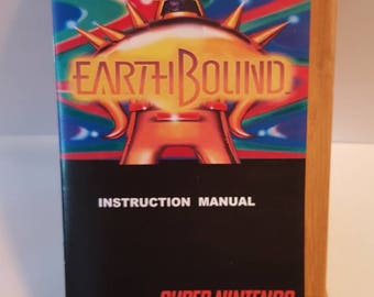SNES Earthbound -  Small Replacement Manual