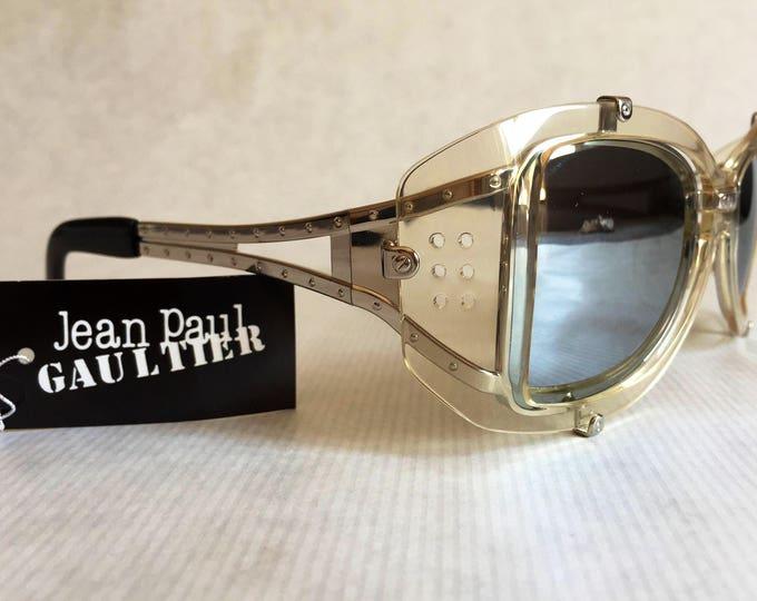 Jean Paul GAULTIER 56 - 6204 Vintage Sunglasses New Unworn Deadstock including Softcase