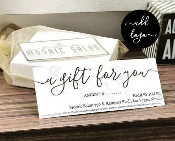 printable gift certificate gift card template simple rustic. Black Bedroom Furniture Sets. Home Design Ideas