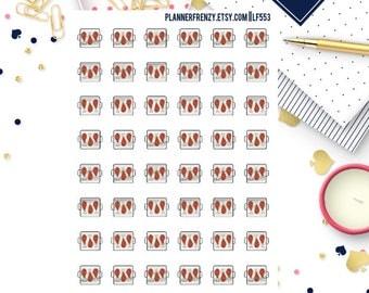 48 Grilled Chicken Planner Stickers! LF553