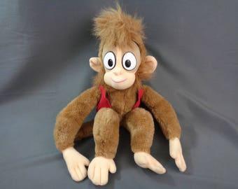 "Disney's Aladdin Abu Monkey Plush 18"""