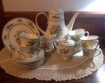Christmas Tea Set