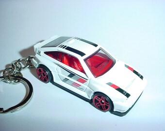3D 1985 Honda C-RX Si custom keychain by Brian Thornton keyring key chain CRX white racer 85'