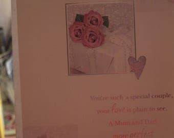 Mum and Dad on your Silver Anniversary Card