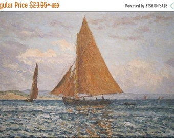40% OFF SALE Poster, Many Sizes Available; Coast, Bay Of Douarnenez, France By Maxime Maufra 1901