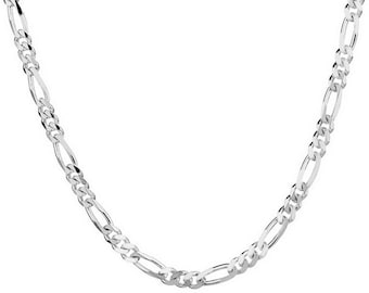 925 Sterling Silver 22 Inch  2MM Chain Necklace