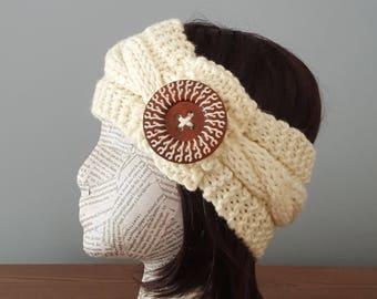 Headband ear warmer handmade for her winter headband winter ear warmer fall headband automn headband headband handmade knitted